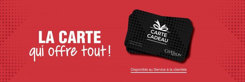 Carte Cadeau Les Galeries Chagnon